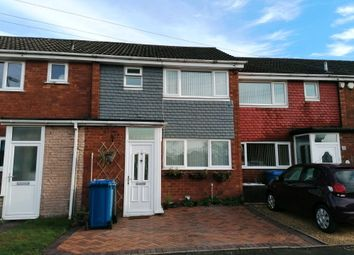 Thumbnail 3 bed terraced house for sale in Summerfield Road, Chasetown, Burntwood