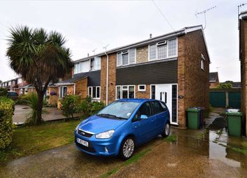 Thumbnail 3 bed semi-detached house to rent in Halt Drive, Linford, Essex