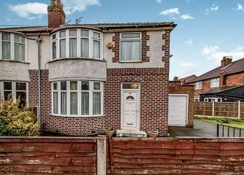 Thumbnail 3 bed semi-detached house for sale in Heyscroft Road, Withington, Manchester