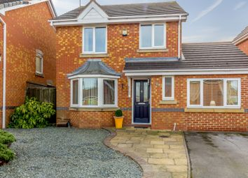 Thumbnail 3 bed detached house for sale in Holme Close, Ilkeston