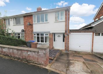 Thumbnail 3 bed semi-detached house for sale in Caton Crescent, Milton, Stoke-On-Trent