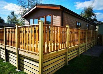 Thumbnail 2 bed lodge for sale in Borwick Lane, Carnfroth