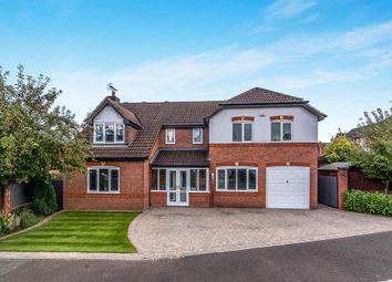 Thumbnail 5 bed detached house for sale in Oakover Close, Uttoxeter