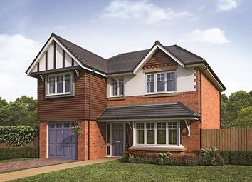 Thumbnail 4 bedroom detached house for sale in Barrington Park, Alsager, Cheshire