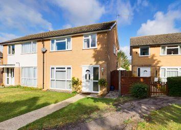 Thumbnail 3 bed semi-detached house for sale in Hilltop Way, Stanton, Bury St. Edmunds