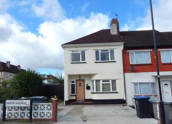 Thumbnail 3 bedroom end terrace house to rent in Perth Avenue, London