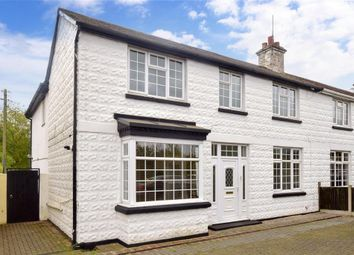 Thumbnail 4 bed semi-detached house for sale in Island Road, Hersden, Canterbury, Kent