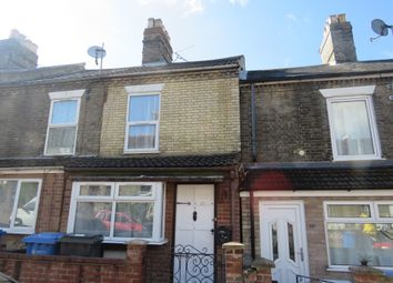 Thumbnail 2 bedroom terraced house for sale in Churchill Road, Norwich