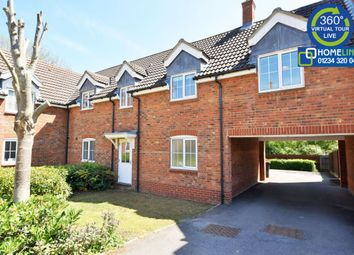Thumbnail 2 bed terraced house to rent in Gibbards Close, Sharnbrook, Bedford