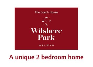 "Thumbnail 2 bedroom property for sale in ""The Coach House"" at Butterwick Way, Welwyn"
