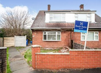 Thumbnail 3 bed semi-detached house to rent in Lyne View, Hyde