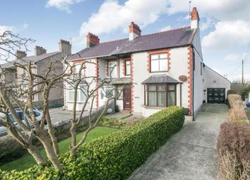 Thumbnail 3 bed semi-detached house for sale in Station Road, Valley, Holyhead, Anglesey