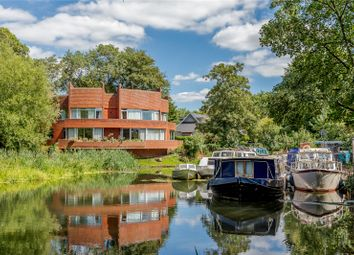 Thumbnail 4 bedroom detached house for sale in White Lilies Island, Mill Lane, Windsor, Berkshire