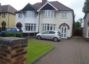 Thumbnail 3 bed semi-detached house to rent in Cannock Road, Wednesfield, Wolverhampton