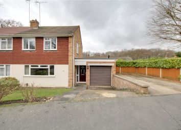 Thumbnail 4 bed semi-detached house for sale in Howards Lane, Rowtown, Surrey