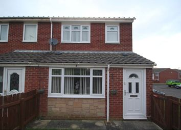 3 bed terraced house for sale in Bracken Close, Stanley DH9