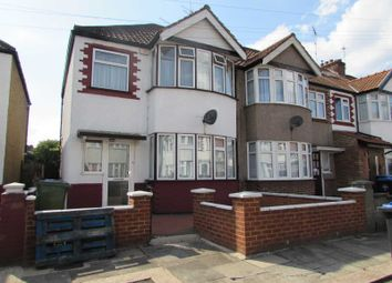 Thumbnail 3 bed end terrace house for sale in Tiverton Road, Wembley, Middlesex