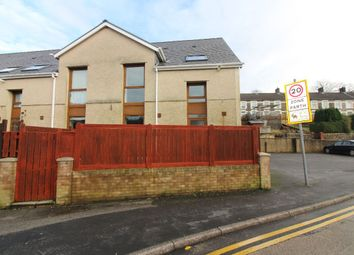 Thumbnail 4 bed terraced house for sale in Richmond Terrace, Tredegar