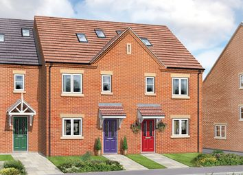 Thumbnail 3 bed town house for sale in The Chestnut, Greendale Gardens, Hucknall, Nottinghamshire