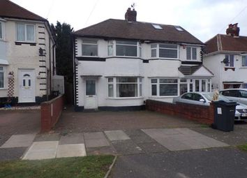 Thumbnail 3 bed semi-detached house for sale in Sandringham Road, Birmingham, West Midlands