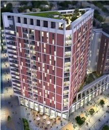 Thumbnail 1 bed property for sale in Discovery Tower, Hallsville Quarter, London