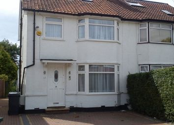 Thumbnail 4 bedroom semi-detached house to rent in Meadow Gardens, Edgware
