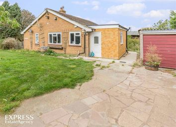 Thumbnail 3 bed detached bungalow for sale in Sixteen Foot Bank, Stonea, March, Cambridgeshire