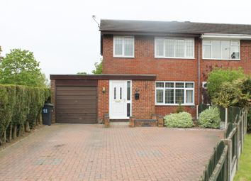 Thumbnail 3 bed semi-detached house for sale in Brindley Way, Stoke-On-Trent