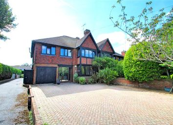 Thumbnail 4 bedroom semi-detached house for sale in Downview Road, Worthing, West Sussex