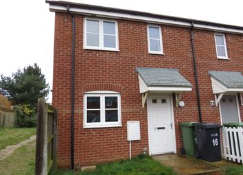 Thumbnail 2 bed end terrace house for sale in Bay Walk, Downham Market
