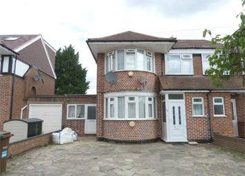 Thumbnail 5 bed semi-detached house to rent in Cannonbury Avenue, Pinner, Middlesex