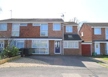 Thumbnail 4 bed semi-detached house for sale in Fielden Close, North Baddesley, Southampton, Hampshire