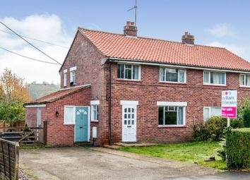 Thumbnail 3 bed semi-detached house for sale in Fir Close, Mundford, Thetford