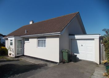 Thumbnail 3 bed detached bungalow to rent in Knights Meadow, Carnon Downs, Truro
