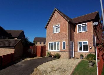 Thumbnail 3 bed detached house to rent in Stagshaw Close, East Hunsbury, Northampton