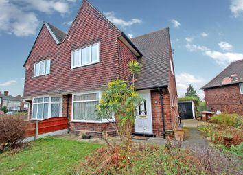 Thumbnail 3 bed semi-detached house for sale in Edwards Lane, Sherwood, Nottingham