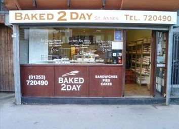 Thumbnail Restaurant/cafe to let in Baked 2 Day, Wood Street, Lytham St Annes, Lancashire