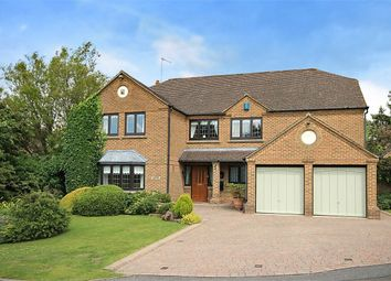 Thumbnail 5 bedroom detached house for sale in Stewart Close, Moulton, Northampton