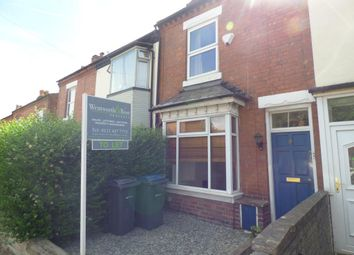 Thumbnail 3 bedroom terraced house to rent in Gordon Road, Harborne, Birmingham