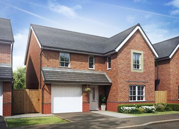 "Thumbnail 4 bed detached house for sale in ""Hale"" at Heol Pentre Bach, Gorseinon, Swansea"