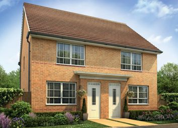 "Thumbnail 2 bedroom semi-detached house for sale in ""Kendal"" at Ripon Road, Kirby Hill, Boroughbridge, York"