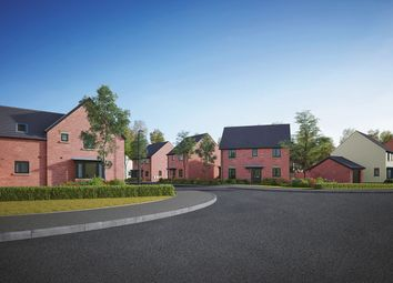 "Thumbnail 3 bed semi-detached house for sale in ""The Eveleigh"" at Gidding Road, Sawtry, Huntingdon"