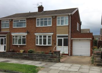Thumbnail 3 bed semi-detached house for sale in Murton Grove, Wolviston Court, Billingham