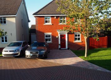 Thumbnail 3 bed detached house to rent in Barons Close, Kirby Muxloe, Leicester, Leicestershire