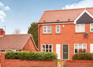 Thumbnail 2 bed end terrace house for sale in Foss Court, York