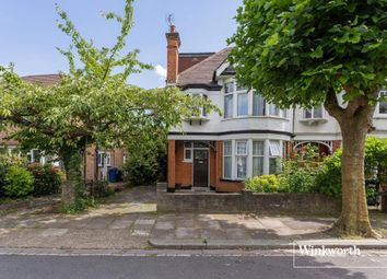 Thumbnail 4 bedroom end terrace house for sale in Eton Avenue, North Finchley, London
