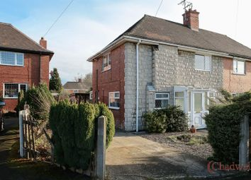 Thumbnail 3 bed semi-detached house for sale in Fourth Avenue, Edwinstowe, Mansfield