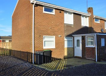 Thumbnail 3 bed semi-detached house to rent in Coniston Drive, Sacriston, County Durham.