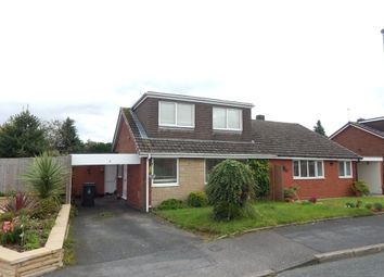 Thumbnail 3 bed semi-detached bungalow to rent in Browning Road, Burntwood, Brownhills, Staffs