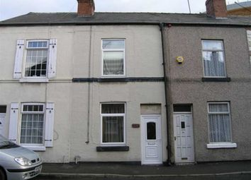 Thumbnail 2 bed terraced house to rent in Chester Street, Brampton, Chesterfield, Derbyshire